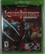 Killer Instinct: Combo Breaker Pack Microsoft Xbox One New Sealed