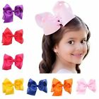 New Baby Girls Big Ribbon Hair Bows Boutique Hair Clip Hairpin Hair Accessories