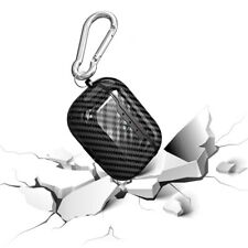 Carbon Fiber Shockproof Protective Cover Case with Hook For Apple AirPods Pro