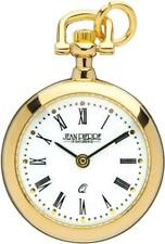 Jean Pierre Of Switzerland Ladies Gold Plated Open Face Necklace Watch L600RN