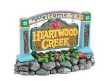"Jim Shore"" Welcome to Heartwood Creek Sign"" Nib #4021339"