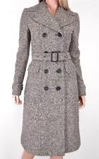 NEW BURBERRY PRORSUM $3,595 WOOL & SILK TWEED TRENCH COAT JACKET~12 46