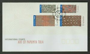 2003 ART OF PAPUNYA TULA INTERNATIONAL STAMP FDC COVER