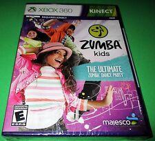 Zumba Kids Microsoft Xbox 360 *Factory Sealed! *Free Shipping!