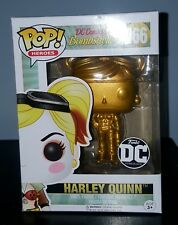 DC Comics Bombshells Harley Quinn Metallic Gold Pop Vinyl Figure Funko Custom