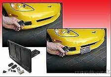 C5 C6 Corvette 97-13 Retractable Front License Plate Bracket - Powered SHOW N GO