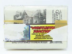 "HO 1/87 Scale Bar Mills Laser Cut Kit #0911 ""Whistlestop Junction"" Building"