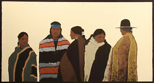 "Louis De Mayo ""The Gathering"" Hand Signed Limited Ed. Art Serigraph, Make Offer!"