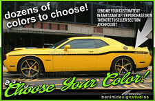 Yellow Jacket Style Stripes Fits 2008 2014 2011 Dodge Challenger Sxt Rt Srt Rt