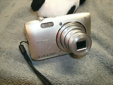 Nikon COOLPIX S3600 20.1MP Digital Camera - Silver