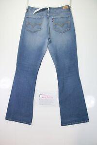 Levis 518 Superlow Bootcut (Cod. F2204) Tg 11M jeans usato Donna Vita Bassa