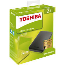 TOSHIBA 2 TB Canvio Basics, Externe Festplatte, 2.5 Zoll