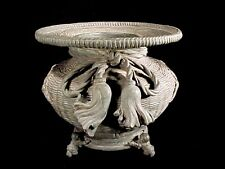 Ancient Tang Chinese Imperial Bronze Basket Censer Footed Stand Museum Quality