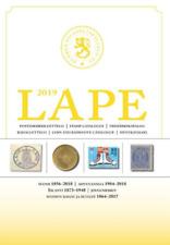 Lape catalogus Finland Katalog Finnland 2019 stamp catalogue Finland