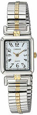 Timex Carriage C2A971, Women's 2-Tone Expansion Band Watch, White Dial