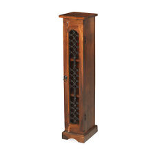 Jali Sheesham CD Unit Living Room Solid Wood Indian Furniture