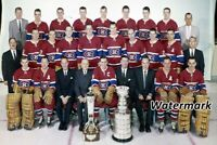 NHL 1959 - 60  Montreal Canadiens Stanley Cup Champs Team Picture 8 X 12 Photo