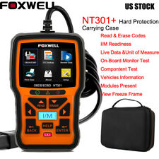 Foxwell NT301 OBD2 Code Reader Engine Check Diagnostic Scanner + EVA Travel Bag
