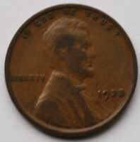 1928 Lincoln Cent Very Good US Coin