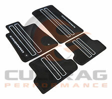 2016-2019 Camaro Genuine GM Front & Rear All Weather Floor Mats 23412245