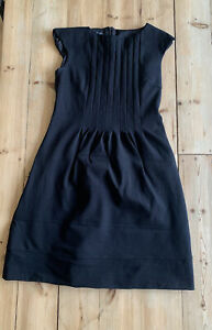 Hobbs black dress sleeveless size 12 office