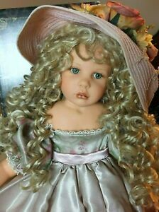 """""""HANNAH"""" by LINDA RICK FOR THE DOLLMAKER & FRIENDS, BRAND NEW! WHAT A HONEY!"""