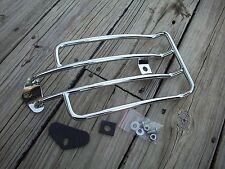 Chrome Solo Rider Luggage Rack 1991-2004  Harley Dyna Models CLEARANCE was $61