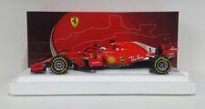 Bbr 1/18 Modellino Ferrari F1 Sf71-h Sebastian Vettel Winner GP Australia 2018