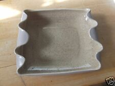 Vintage Mauve and Tan Speckled Red Wing Art Pottery Dish