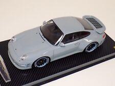 1/18 GT Spirit Porsche 911 ( 993 ) Turbo R by Ruf in Grey wheels Carbon GT145