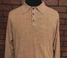 Geoffrey Beene Long Sleeve Sweater Men's Extra Soft Size Small