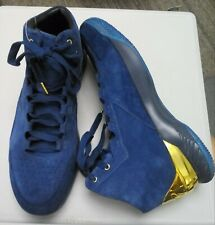*NEW* Under Armour Steph Curry One 1 Lux Suede 1296617-997 GOLD Men Size 13