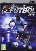 FX FUTBOL 2015 PC NUEVO PRECINTADO EN CASTELLANO PC