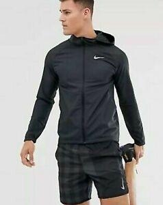Nike Essential Men's Lightweight Hooded Running Jacket Size Medium