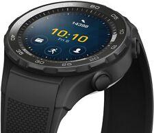 HUAWEI Watch 2 (Bluetooth) Smartwatch mit schwarzem Sportarmband NFC, Bluetooth
