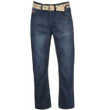Lee Indigo, Dark wash Short Mid Rise Jeans for Men