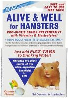 OASIS Alive & Well, Stress Preventative and Pro-Biotic Tablets for Pocket Pets