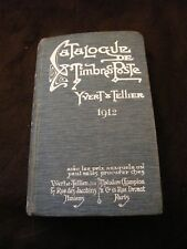 Catalogue Timbres Poste Yvert & Tellier 1912
