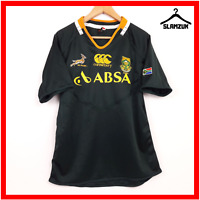 South Africa Rugby Shirt Canterbury M Medium Top Home Jersey Springboks 2013