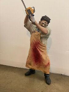 "Mcfarlane Leatherface Texas Chainsaw Massacre 18"" 1/4 Scale Figure 2000"