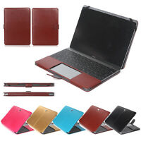 "PU Leather Laptop Case Cover Protector for Apple MacBook 12""/Air Pro 11"" 13"" 15"""