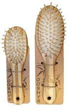 MiEco Bamboo Hair Brush Massage Scalp Eco Friendly 2 Pcs Large Adult Small Child