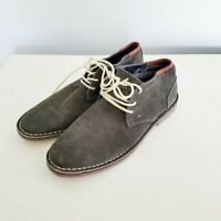 Kenneth Cole Reaction desert sun suede chukka boot men's size 9.5M gray