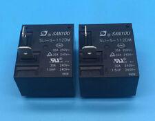 1PC SANYOU SLI-S-112DM Relay 12VDC 30A250VAC T93