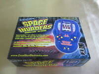 Excalibur Space Invaders Electronic Handheld Game Rare NEW in Box