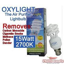 Ionmax Oxylight 15W 2700K B22 Bayonet negative ion Ionic Energy saver light bulb