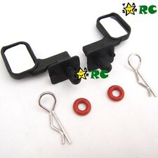 1/10 Side Rear Mirrors Set - RC Buggy Drift On Road Body Shell Cover Accessories