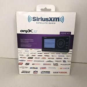 NEW Sirius-xm Xez1h1 Onyx Ez Satellite Radio With Home Kit Fast Shipping
