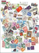 LOTE 100 sellos MUNDIALES  DIFERENTES.   matasellados  .