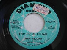PROMO Kevin McQuinn Ev'ry Step of the Way / Keep Me on Your Mind 1961 45rpm VG++